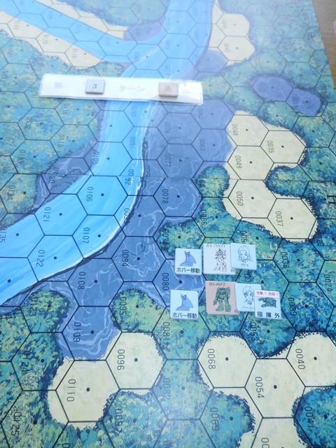 T3ジオン軍 背後からヒートホークも当たらず