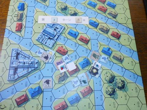 T3ジオン軍が先手で圧勝