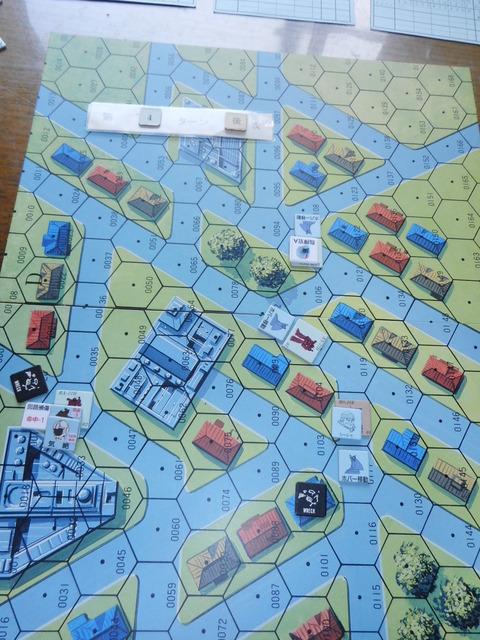 T5連邦軍 次ターンの先制に賭けるが・・・
