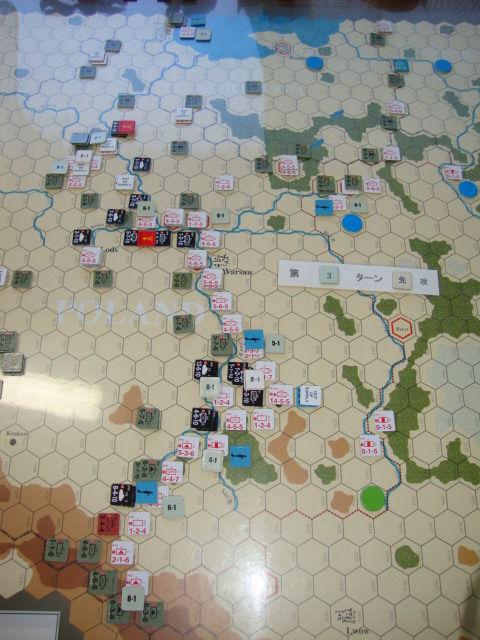 T3D Visula河防衛線を突破