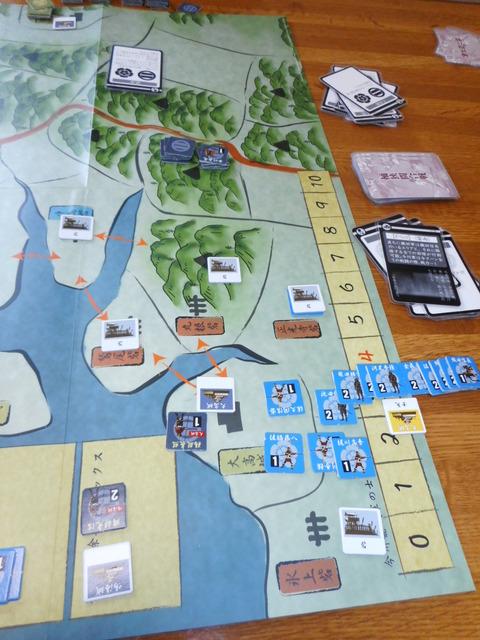 R8 鳴海城強襲で陥落し、大高城も「挑発」で落城