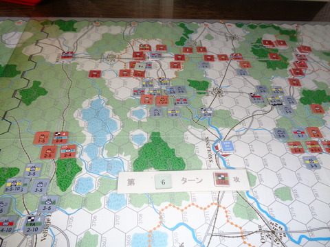 T6 ソ連軍の反撃で包囲下に