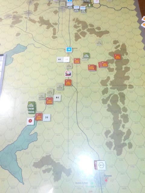 T8UN 南部での反攻