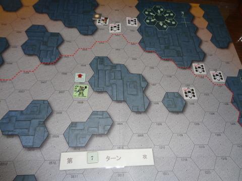 T7 封鎖部隊の1両を撃破