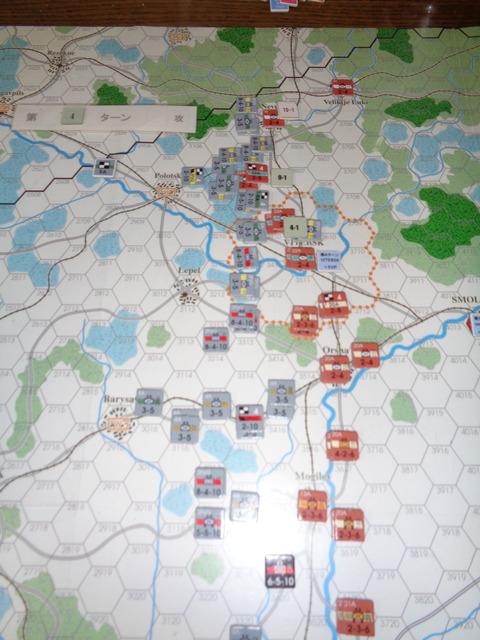 T4 北部での攻勢