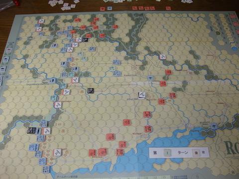 T1S 撤収により、薄氷の戦線構築