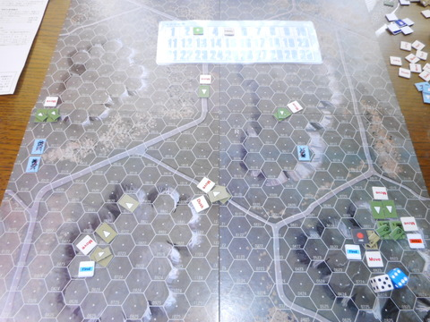 T5F3 左翼で両軍が零距離射撃も・・・