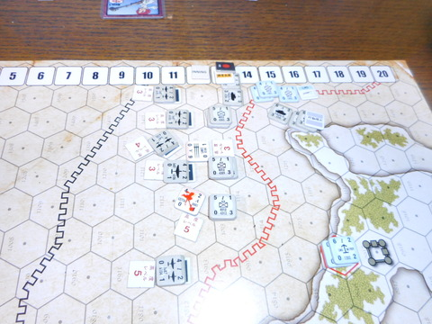 T12 帝国軍戦車が、やむを得ず、イゼッタの質量兵器を撃破