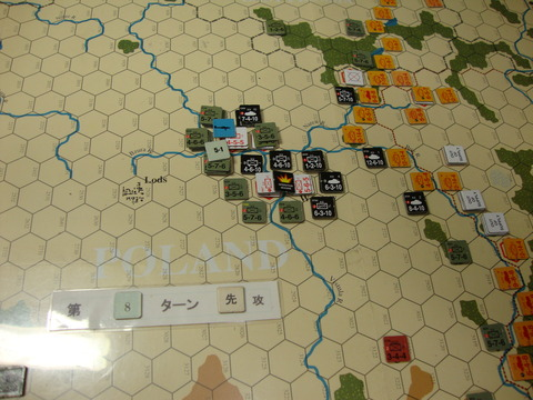 T8D Modlin攻撃もポーランド軍が決死の防衛