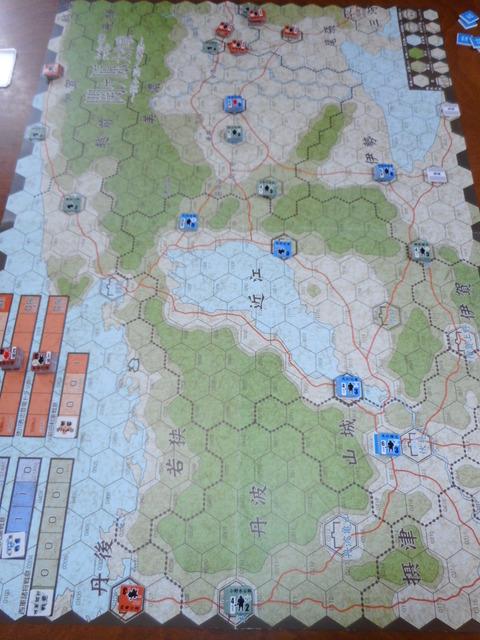 T3 早くも伊勢路と大津城が陥落