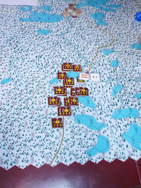 12.4 ドンピシャで包囲攻撃を実施するも・・・