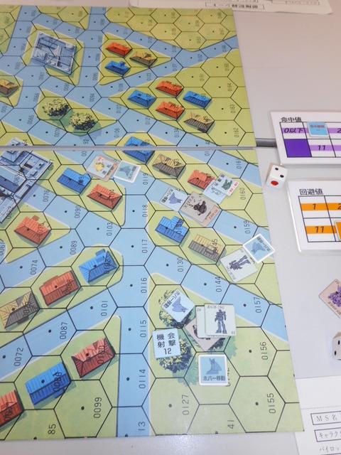 T3 回り込もうとしたバーニィ機を臨機射撃で粉砕!