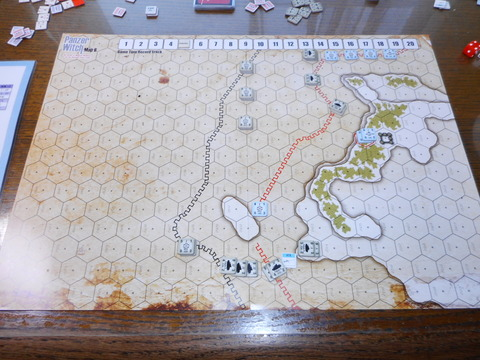 T5 東側は崩壊、西側も敵が塹壕に取り付く