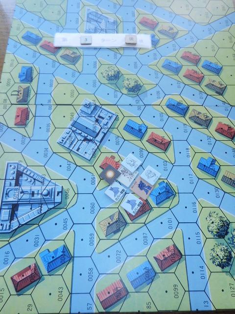 T3 近接戦闘で後1ダメージに