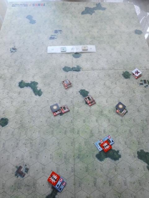T6D 準備射撃で2両を撃破
