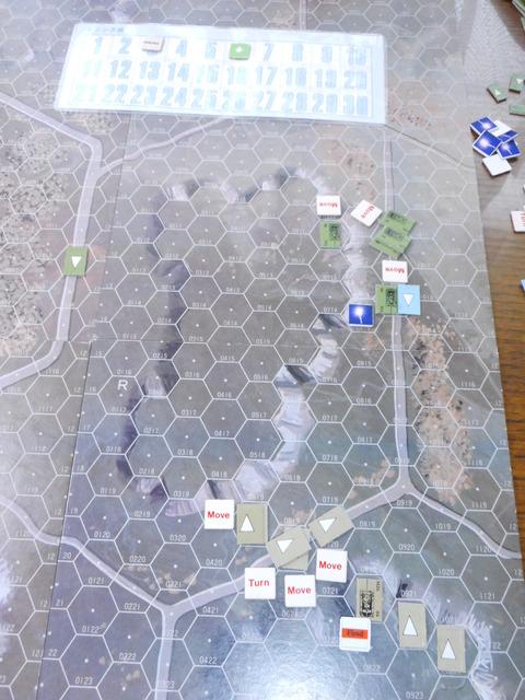 T3F5 UNが発砲も、惜しくも外れ