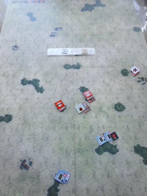 T6S KVの突進、射撃戦