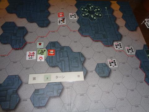 T8 弾薬切れに初損害も、HM攻撃
