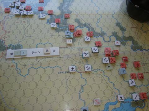 T10S 中央から南部での反撃