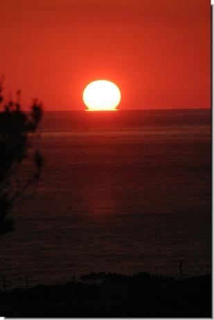 夕陽20110328