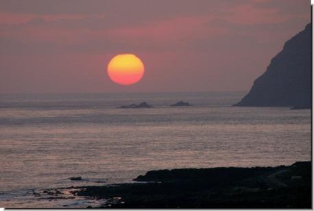 夕陽20110412