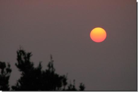 夕陽20110330