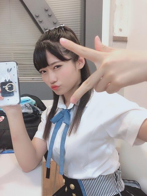 【悲報】NMB48菖蒲まりんちゃん(18)、●女膜が破れる瞬間が動画で収められる