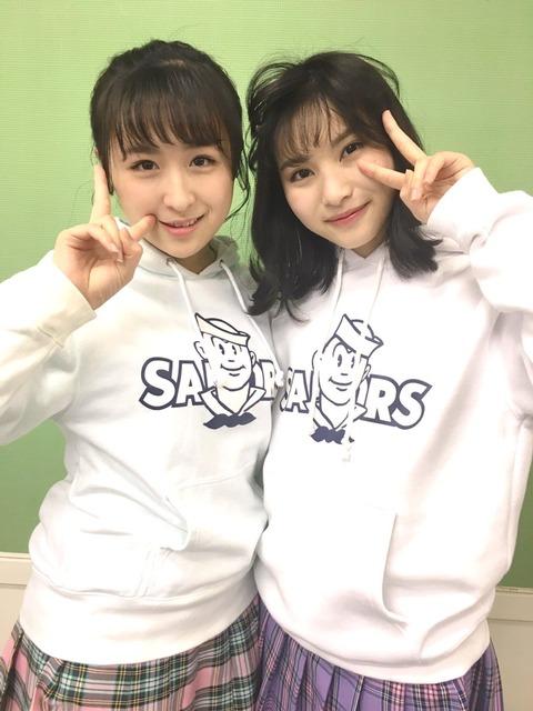 【悲報】AKB48若手間での格差がエグ過ぎるんだが・・・【川本紗矢・福岡聖菜】