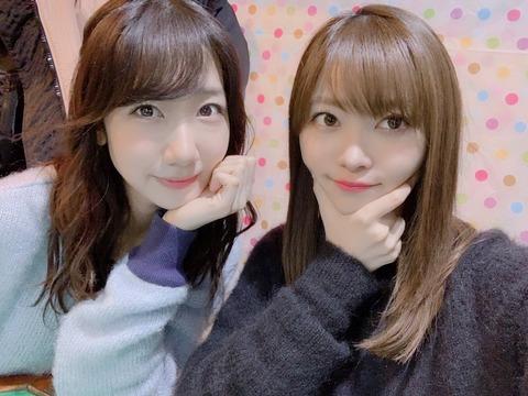 【AKB48】柏木由紀「クリスマスは毎年さっしーと一緒にいることが多くて」←これ