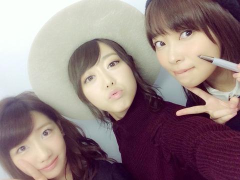 【AKB48】指原莉乃、峯岸みなみ、柏木由紀の3人に同時に告白されたら誰を選ぶ?
