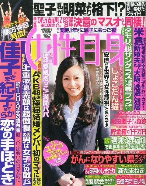 【速報】元AKB48小森美果極秘結婚、ママになる