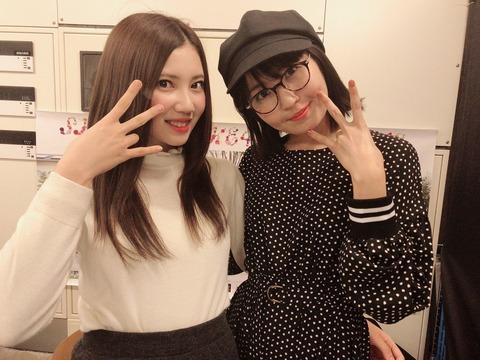 【SKE48】左の美少女が総選挙64位で右のおばちゃんが総選挙8位とかどうなってんだよ・・・【北川綾巴・惣田紗莉渚】