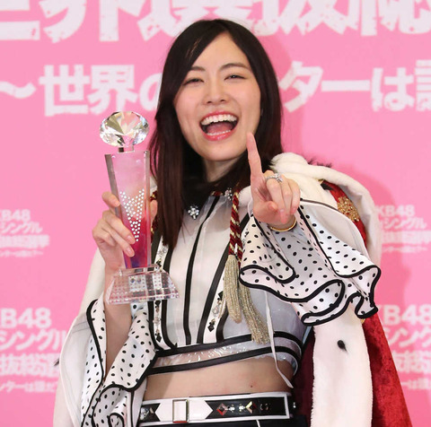 【SKE48】湯浅洋「総選挙中止になっても松井珠理奈の総選挙1位祝賀パレードはします」