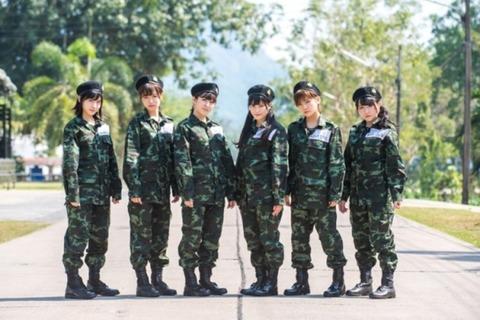 【ネ申テレビ】AKB48田北香世子の身体能力がすごい【タイ陸軍】