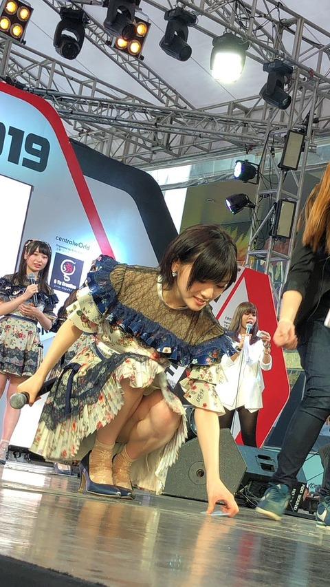 【AKB48G】メンバーの見えそうで見えないきわどい画像