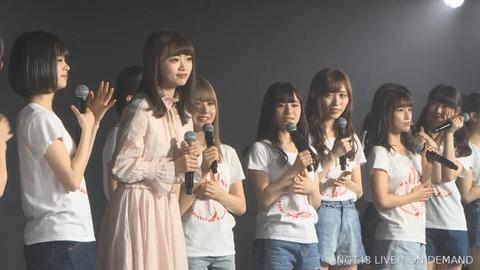 【NGT48】中井りかが劇場にサプライズ登場「心機一転頑張りたい」