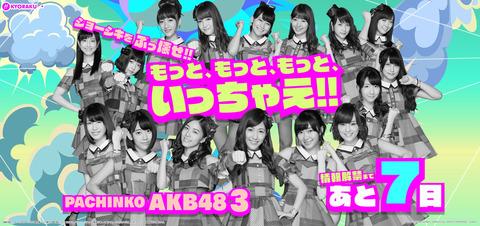 【悲報】「ぱちんこAKB48-3 誇りの丘」ほぼ卒業メンバーばかり
