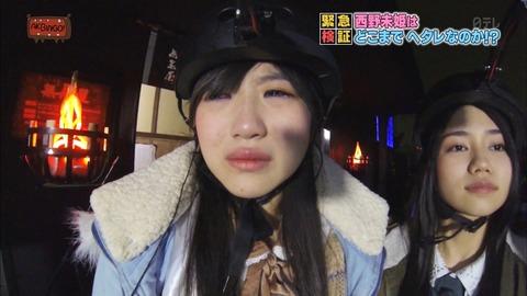 【AKB48】西野未姫と小谷里歩でお化け屋敷のイベント【NMB48】