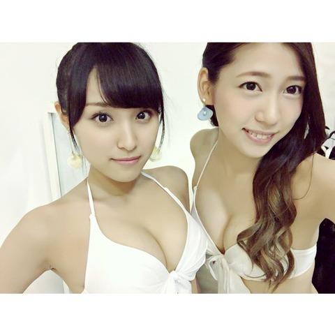 【朗報】茂木忍と野村奈央のおっぱいが素晴らしい!!!【AKB48新聞】