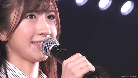 【AKB48】石田晴香、公演にて卒業発表