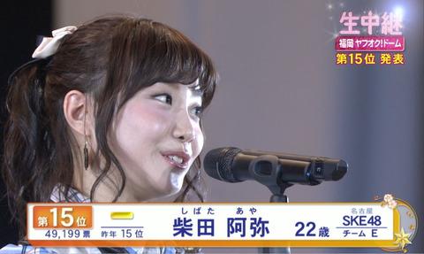 【SKE48】柴田阿弥、総選挙には「ほぼ出ない」