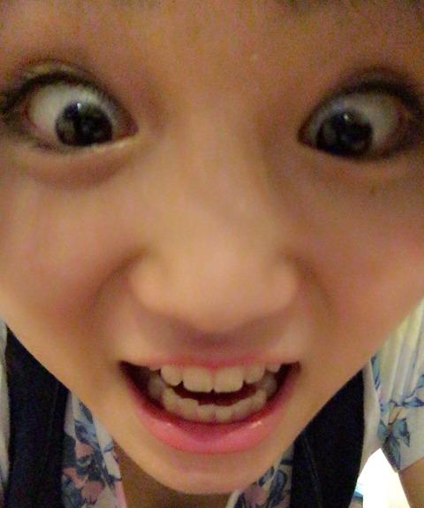 【朗報】HKT48秋吉ちゃん、谷間画像をアップする【秋吉優花】