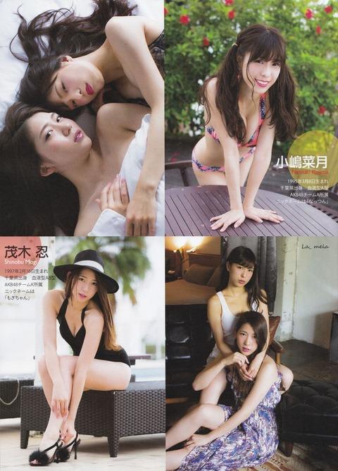 【AKB48】小嶋菜月って巨乳で可愛いのに何故かあまりエロさを感じないよね