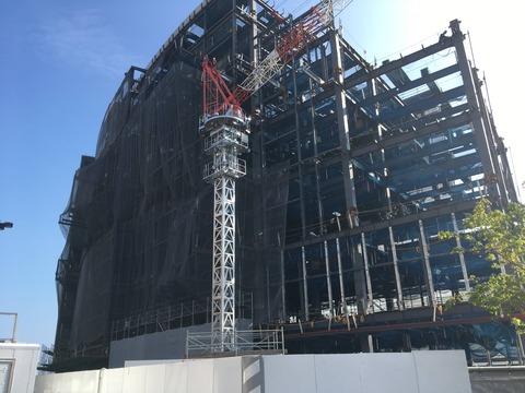 【朗報】HKT48劇場、着々と建設されている模様