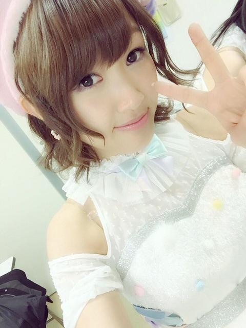 【朗報】上枝恵美加、史上初の一年でNMB48・AKB48のリクアワを両方制す