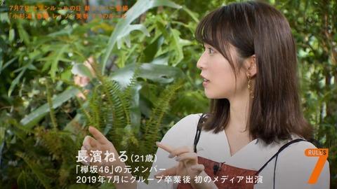 【元欅坂46】長濱ねるさん、セブンルールで芸能界サプライズ復帰