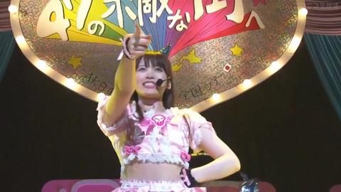 【画像】チーム8岡部麟さん(24歳)、若手に対抗してはりきってしまうwww【AKB48】