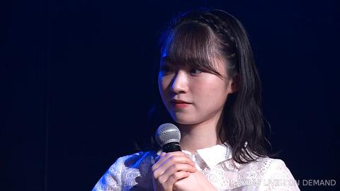 【AKB48】山根涼羽「(ずっきーは)紅白の責任を感じているかもしれません。いや、感じてるよね。「自分のせいで」って思っていると思います。」