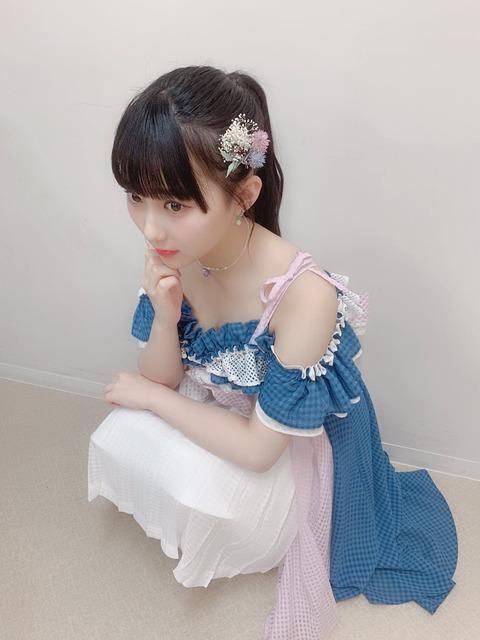 【HKT48】田中美久ちゃんの谷間写真アップキタ━━━(゚∀゚)━━━!!