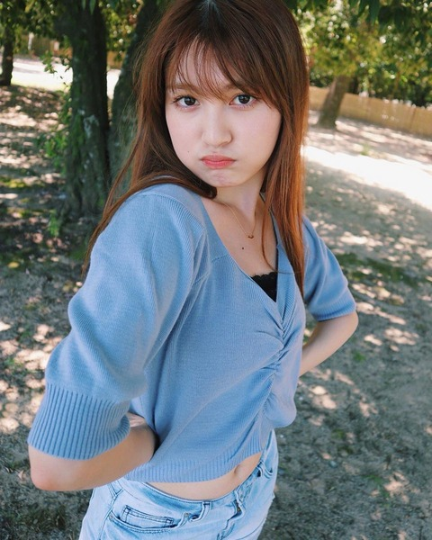 【HKT48】神志那結衣を久しぶりに見たらビジュアル変わってたんだが
